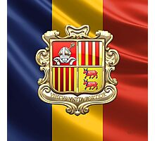 Andorra - Coat of Arms  Photographic Print