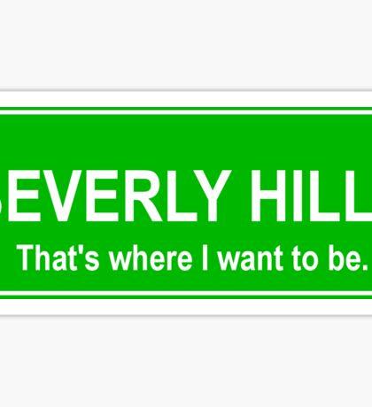 Beverly Hills Sticker