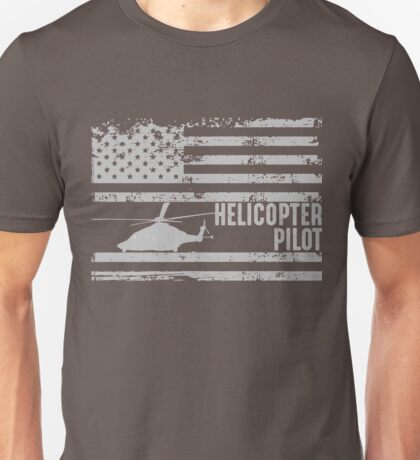 American Helicopter Pilot United States  Unisex T-Shirt