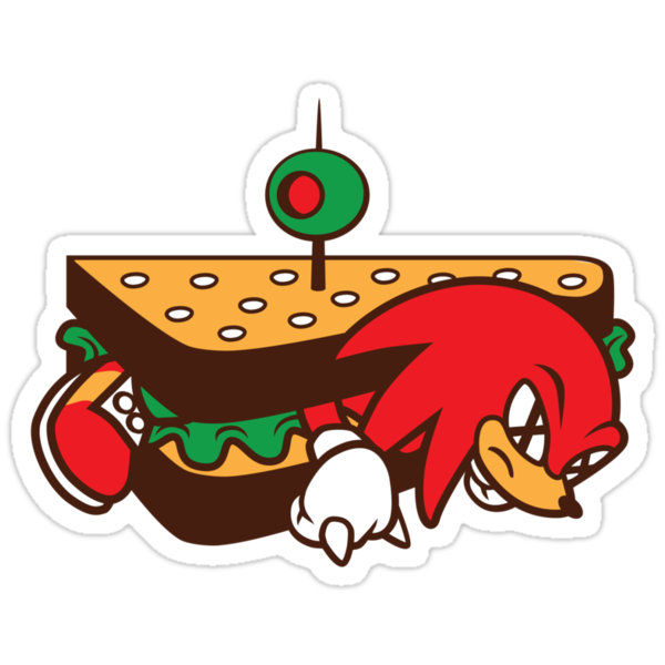 KNUCKLES SANDWICH by DREWWISE