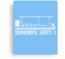 Remember Amity 3 Canvas Print