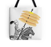 Knight of Pancakes Breakfast Tarot Tote Bag