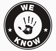 "Skyrim // Dark Brotherhood ""We Know"" Logo T-Shirt"