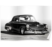 1949 Oldsmobile Rocket 88 Coupe Poster