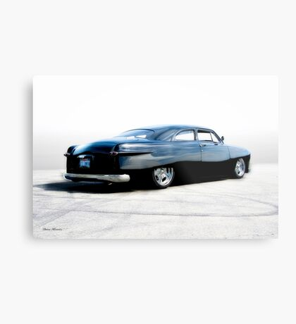 1950 Ford Custom Coupe Metal Print
