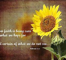 Faithful Sunflower by Carol Vega