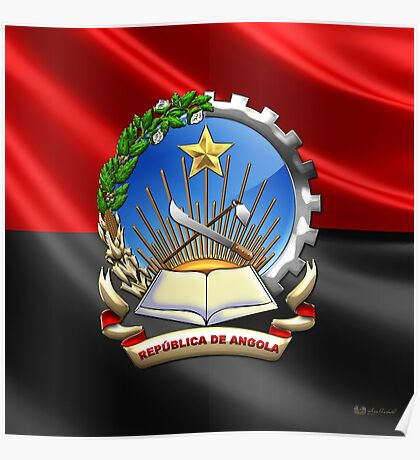 Angola - Coat of Arms  Poster