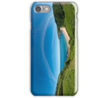 Kinnagoe Bay Panorama iPhone Case/Skin