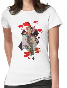 Explosive Duo Womens Fitted T-Shirt
