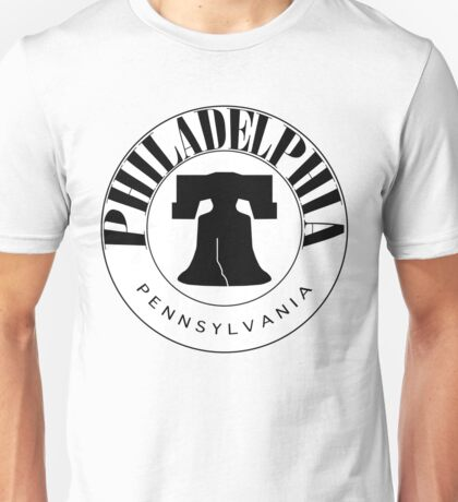 Philadelphia Liberty Bell Stamp Unisex T-Shirt