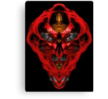 Red Ion Key  Canvas Print