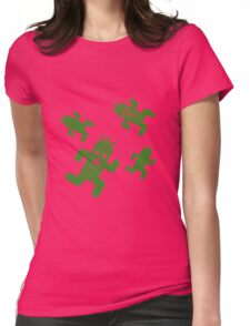 Cactuar print  Womens Fitted T-Shirt