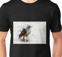 Hungry Red Teiled Hawk Unisex T-Shirt