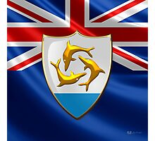 Anguilla - Coat of Arms  Photographic Print