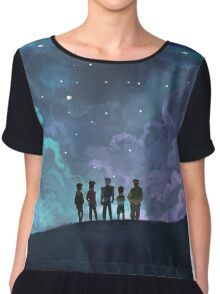 Space Family Chiffon Top