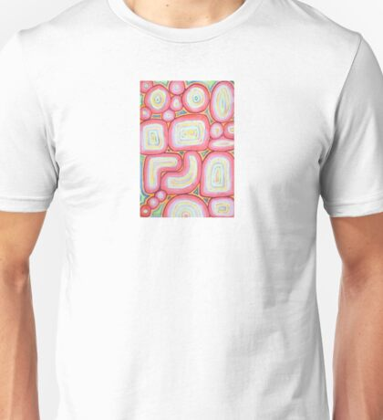 Fitting Pieces Pattern Unisex T-Shirt