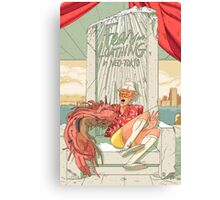 Fear and loathing in Neo Tokio Canvas Print