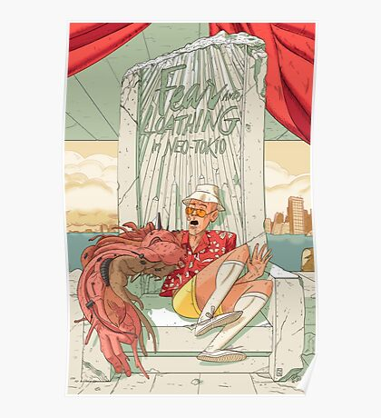 Fear and loathing in Neo Tokio Poster