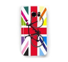 Bike Flag United Kingdom (Multi Coloured) (Big - Highlight) Samsung Galaxy Case/Skin