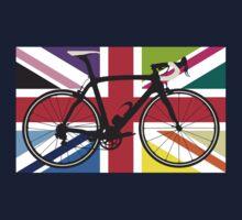 Bike Flag United Kingdom (Multi Coloured) (Big - Highlight) Kids Clothes