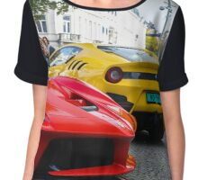 Ferrari LaFerrari and F12tdf Chiffon Top