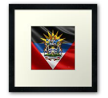 Antigua and Barbuda - Coat of Arms  Framed Print
