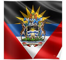 Antigua and Barbuda - Coat of Arms  Poster