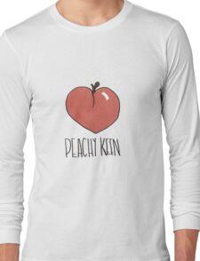 Peachy Keen Doodle Long Sleeve T-Shirt