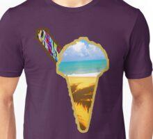 Summer Ice Cream Cone Scene Unisex T-Shirt