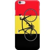 Bike Flag Belgium (Big - Highlight) iPhone Case/Skin