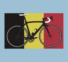Bike Flag Belgium (Big - Highlight) Kids Clothes