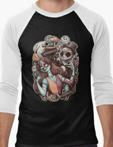 Nightmare de los Muertos Men's Baseball ¾ T-Shirt