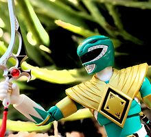 Green Mighty Morphin Ranger by mykl55