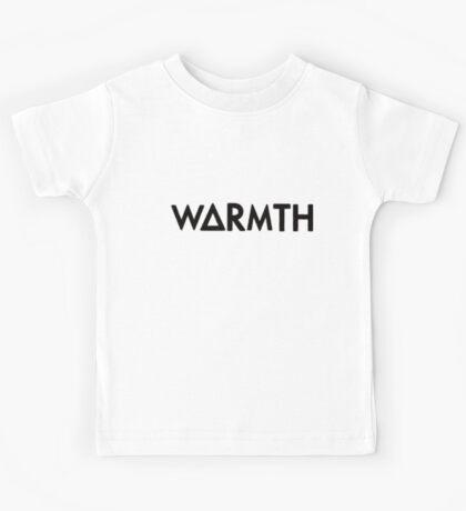 warmth (black) Kids Tee