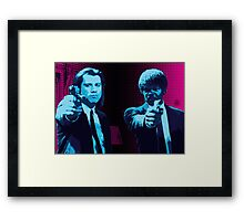 Vincent and Jules - Pulp Fiction (Variant 1 of 2) Framed Print