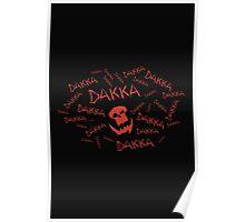 Dakka Dakka Dakka - Ork - Warhammer Poster