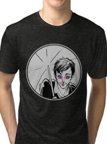 Rainy Gotham Tri-blend T-Shirt