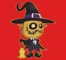 Halloween pumpkin witch Kids Clothes