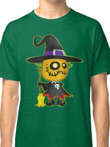 Halloween pumpkin witch Classic T-Shirt