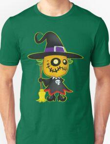 Halloween pumpkin witch T-Shirt