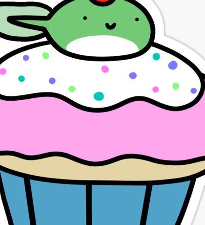 Cupcake Tadpole Sticker