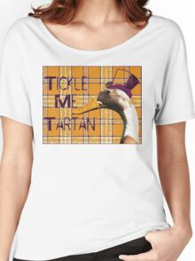 Tickle Me Tartan Women's Relaxed Fit T-Shirt