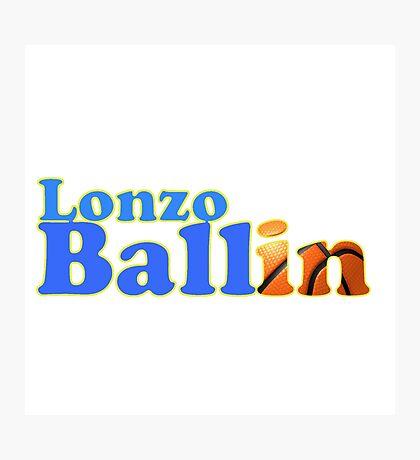 Lonzo Ball Photographic Print