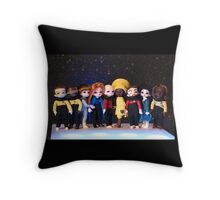 Teeny Trek Throw Pillow