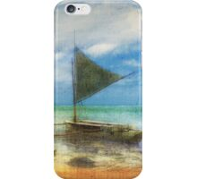 Organic Island Boat iPhone Case/Skin