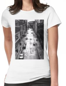0121 Do One - Brummie saying on Photograph Womens Fitted T-Shirt