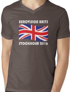 Eurovision Brits Mens V-Neck T-Shirt