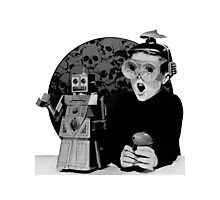 Robot Boy Photographic Print