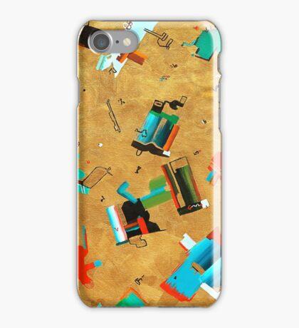 Alphabet Soup - Fun Miro Inspired Abstract iPhone Case/Skin