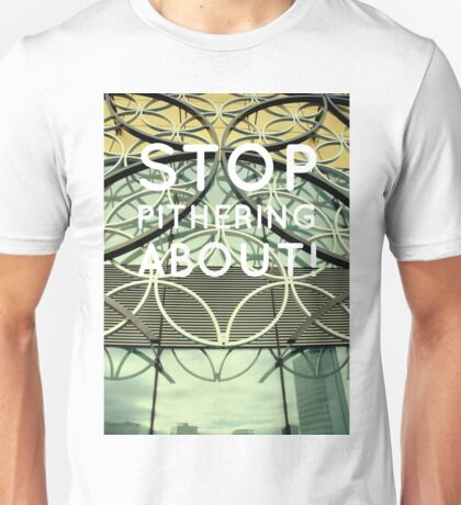 Birmingham new library facade with typography Unisex T-Shirt